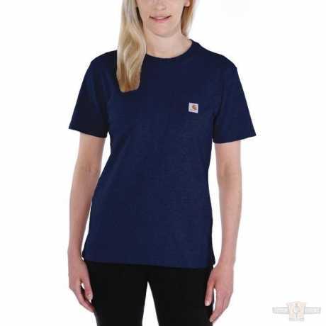 Carhartt Carhartt women T-Shirt Workwear Pocket Navy  - 91-4951V