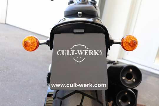 Cult-Werk Cult-Werk Kennzeichenhalter mit Kennzeichenbeleuchtung  - 91-7161