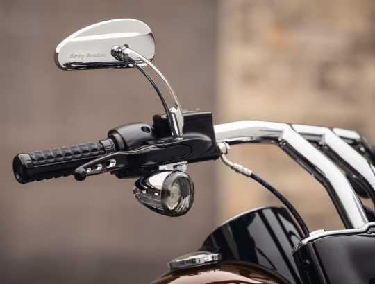 Harley-Davidson Profile Custom-Spiegel mit Slotted Ausleger  - 91697-06A