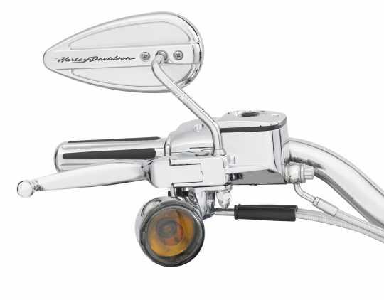 Harley-Davidson Teardrop Spiegel mit Harley-Davidson Schriftzug  - 91968-98