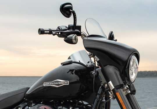Harley-Davidson H-D Buckshot Mirrors satin black  - 92416-08