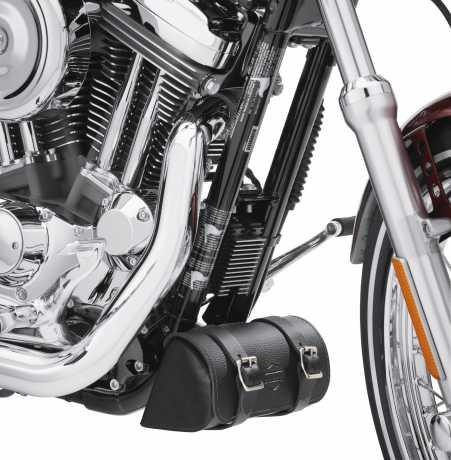 Harley-Davidson Leatherbag for Down Tube, black  - 93300044