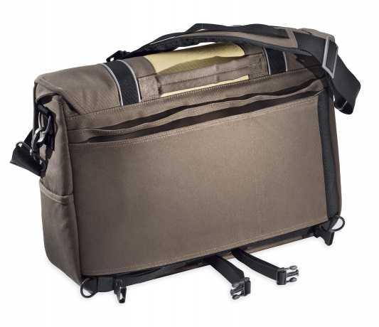 Harley-Davidson HDMC Messenger Bag - Brown/Tan  - 93300100