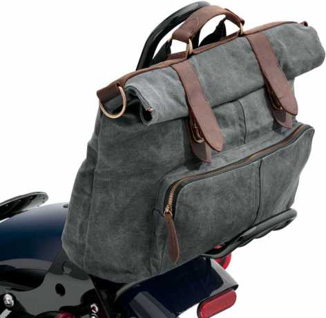 Harley-Davidson Waxed Canvas Messenger & Sissy Bar Bag  - 93300116