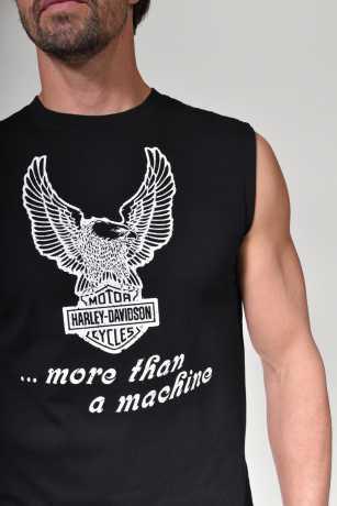 H-D Motorclothes Harley-Davidson T-Shirt More than a Machine ärmellos schwarz  - 96251-20VH