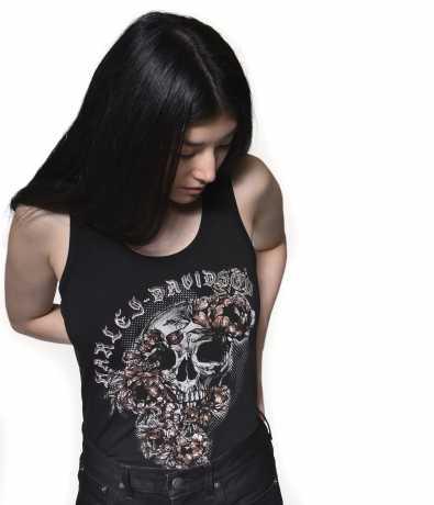 H-D Motorclothes Harley-Davidson Tank Top Skull & Roses schwarz XL - 96322-20VW/002L