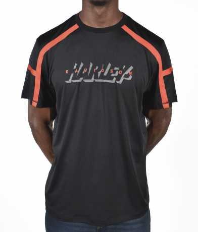 H-D Motorclothes Harley-Davidson Men's T-Shirt Performance black & orange  - 96326-21VM