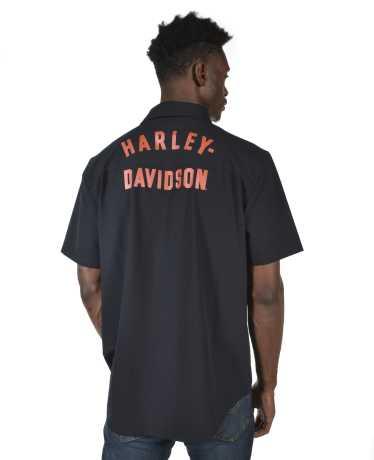 H-D Motorclothes Harley-Davidson Kurzarmhemd Performance schwarz M - 96330-21VM/000M