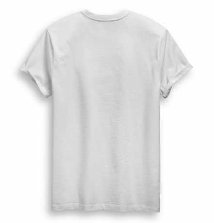 H-D Motorclothes Harley-Davidson T-Shirt Cracked Print white  - 96790-19VM