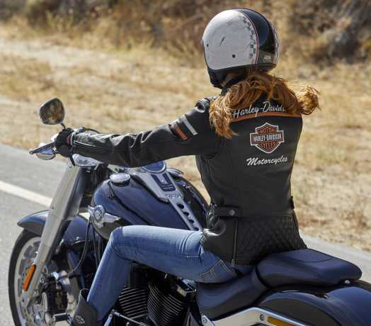 H-D Motorclothes Harley-Davidson Leather Jacket Miss Enthusiast  CE M - 98030-18EW/000M