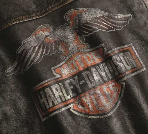 H-D Motorclothes Harley-Davidson Women´s Leather Jacket Eagle Distressed  - 98076-19VW