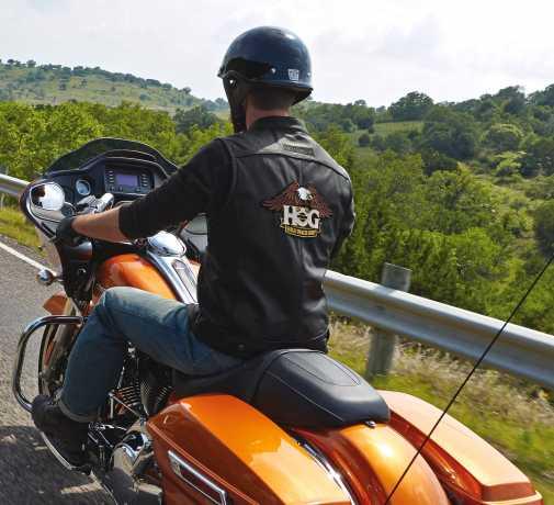 H-D Motorclothes Harley-Davidson Foster Leather Vest M - 98090-15VM/000M