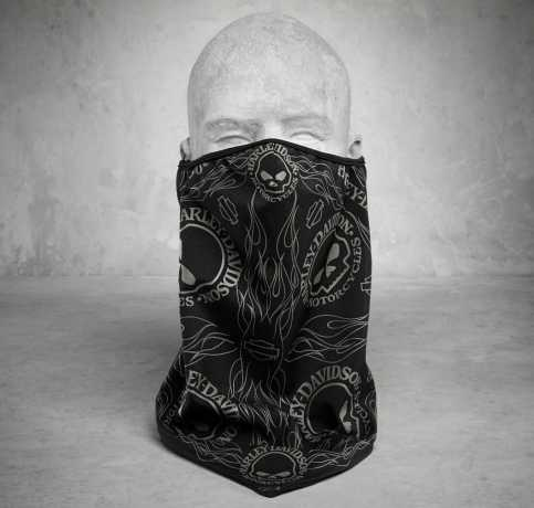 H-D Motorclothes Harley-Davidson Gesichtsmaske Bandana Skull, schwarz  - 98187-18VX