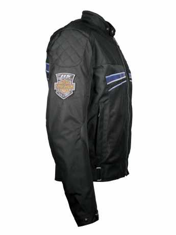 H-D Motorclothes Harley-Davidson Mesh Jacke 115th Anniversary, schwarz  - 98217-18EM
