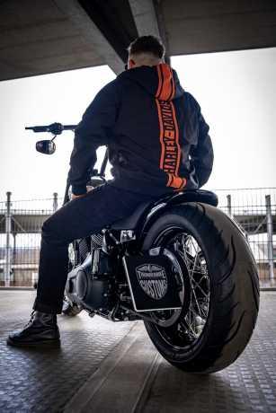 H-D Motorclothes Harley-Davidson Hooded Stretch Jacket Vertical Stripe 2XL - 98408-20VM/022L