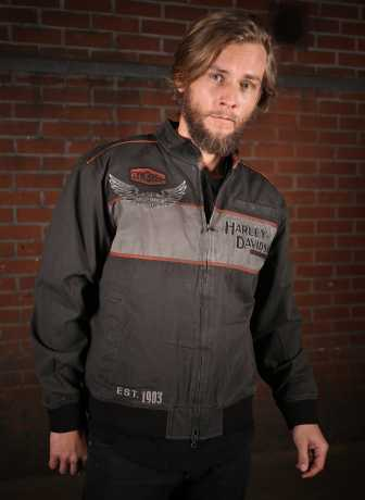 H-D Motorclothes Harley-Davidson Casual Jacket Iron Block  - 98577-17VM