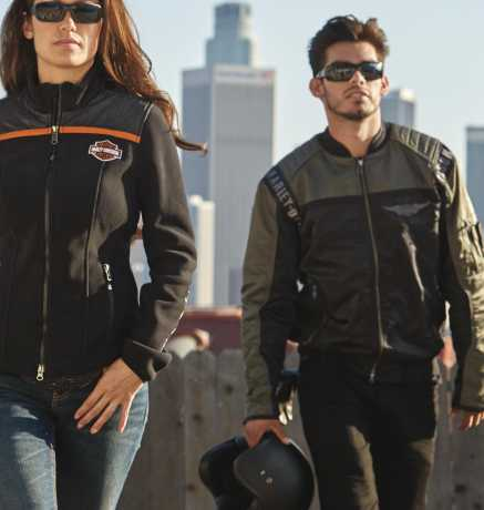 H-D Motorclothes Harley-Davidson Bomber Jacke Mainstreet Nylon  - 98583-17VM