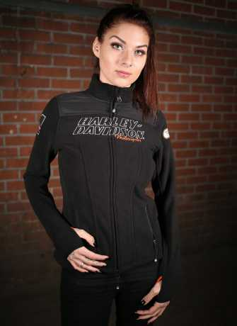 H-D Motorclothes Harley-Davidson Damen Fleece Jacke Racing 3W - 98598-19VW/003W