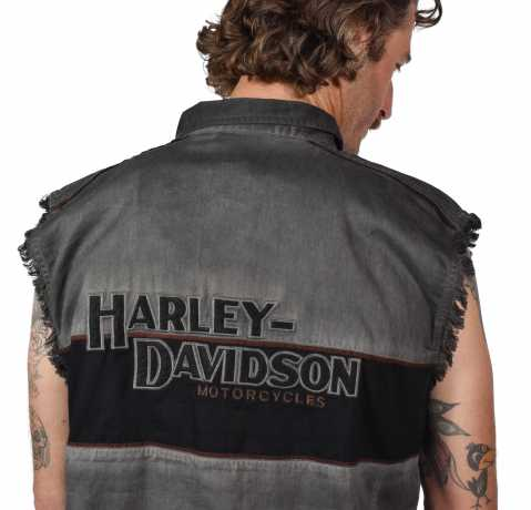 H-D Motorclothes Harley-Davidson Iron Block Blow Out Shirt XL - 99019-17VM/002L