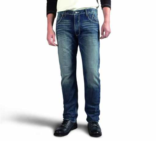 H-D Motorclothes Harley-Davidson Straight Leg Fit Modern Jeans, indigo 36 | 32 - 99030-16VM/3632