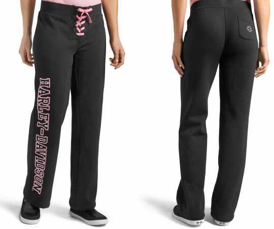 H-D Motorclothes Harley-Davidson Damen Hose Pink Label Activewear  - 99058-20VW