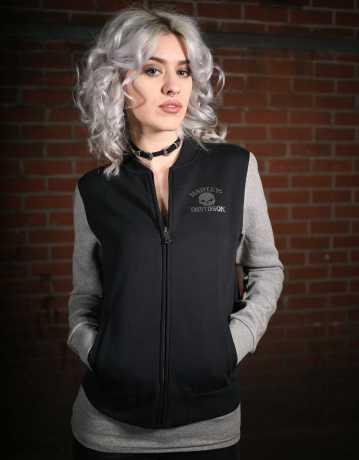 H-D Motorclothes Harley-Davidson Women's Skull Activewear Bomber Jacket  - 99073-18VW