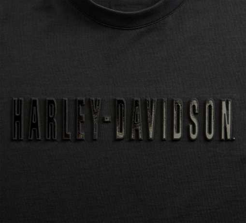 H-D Motorclothes Harley-Davidson T-Shirt Embossed Metallic schwarz  - 99096-20VH