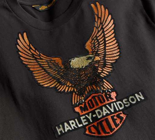 H-D Motorclothes Harley-Davidson Longsleeve Vintage Eagle black  - 99098-20VH