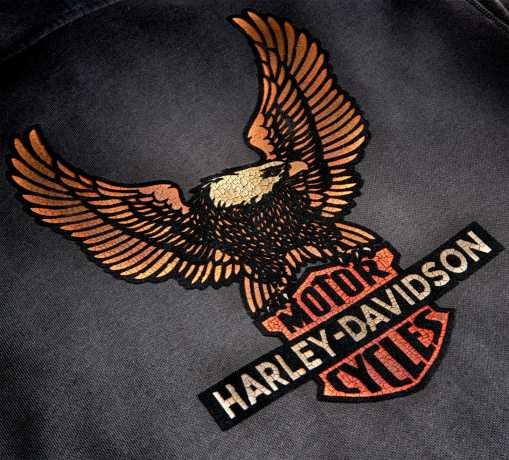 H-D Motorclothes Harley-Davidson Zip Hoodie Vintage Eagle grau  - 99099-20VM