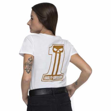 H-D Motorclothes Harley-Davidson Damen T-Shirt Metallic #1 Skull  - 99107-20VW