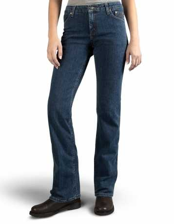 H-D Motorclothes Harley-Davidson Stretch Boot Cut Damen Jeans 29.5 | 32 - 99113-11VW/1000
