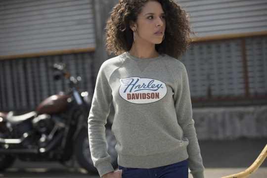 H-D Motorclothes Harley-Davidson Women's Sweatshirt Distressed Print  - 99113-19VW