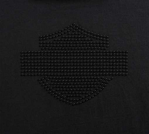 H-D Motorclothes Harley-Davidson women´s T-Shirt Studded black  - 99127-20VW