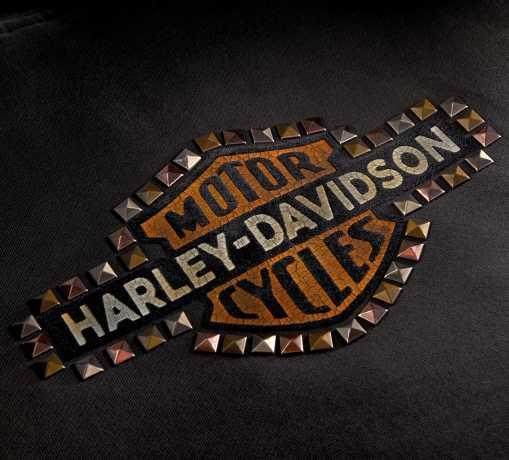 H-D Motorclothes Harley-Davidson Damen Zip Hoodie Studded Vintage L - 99129-20VW/000L