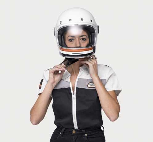 H-D Motorclothes Harley-Davidson Women's Zip-Front Shirt Racing  - 99134-19VW