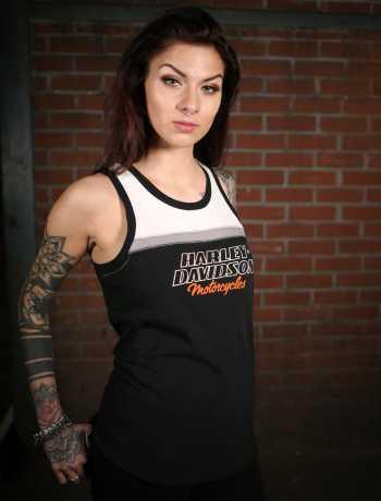 H-D Motorclothes Harley-Davidson Damen Tank Top Racing 3W - 99135-19VW/003W