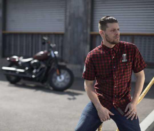 H-D Motorclothes Men's Checked Plaid Shirt  - 99144-19VM