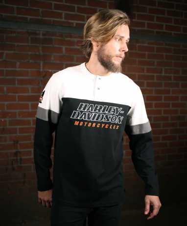 H-D Motorclothes Harley-Davidson H-D Racing Henley Shirt  - 99167-19VM