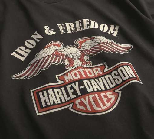H-D Motorclothes Harley-Davidson T-Shirt Iron & Freedom schwarz  - 99200-19VM