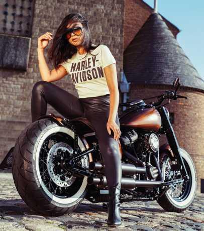 H-D Motorclothes Harley-Davidson Damen T-Shirt Jersey Appliqué off-weiß  - 99276-19VW