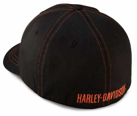 H-D Motorclothes Harley-Davidson Contrast Stitch Logo Stretch Cap  - 99419-16VM