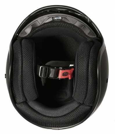 Premier Helmets Premier Vintage Jethelm U9 schwarz matt  - APFJ11JVU9MV