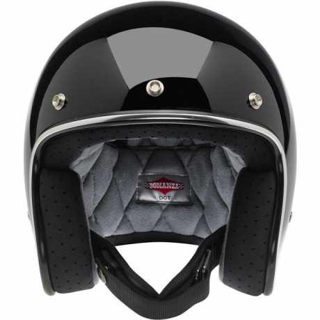 Biltwell Biltwell Bonanza Helmet, gloss black M - 942781