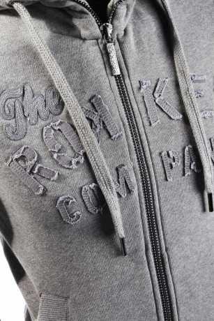 Rokker Rokker TRC Damen Zip Hoodie, grau L - C5100215-L