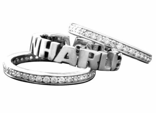 H-D Motorclothes Harley-Davidson Damen Ring Stacking 6 - HDR0294-06