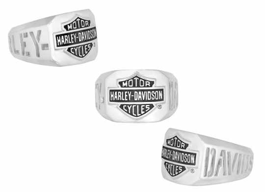 H-D Motorclothes Harley-Davidson Ring Cut Out Bar & Shield  - HDR0327