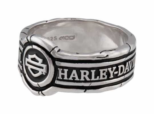 H-D Motorclothes Harley-Davidson Ring Men's Bar & Shield Wax Seal Band  - HDR0545