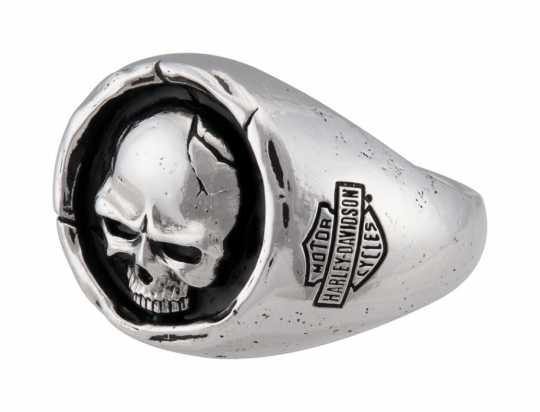 H-D Motorclothes Harley-Davidson Ring Men's Skull Wax Seal  - HDR0546