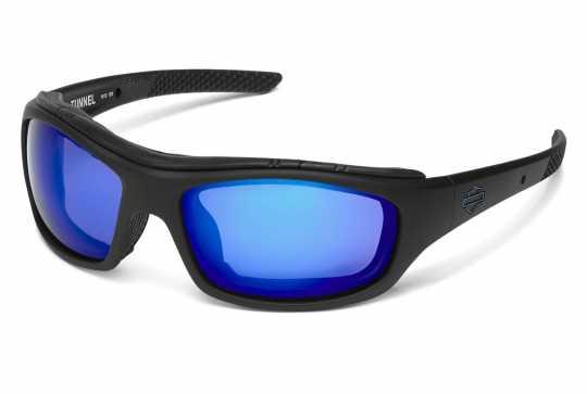 H-D Motorclothes Harley-Davidson Wiley X Sonnenbrille Tunnel PPZ blau verspiegelt  - HDTNL12