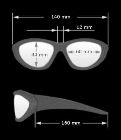 Helly Helly Bikereyes Moab 4 Brille klar  - 67-5170
